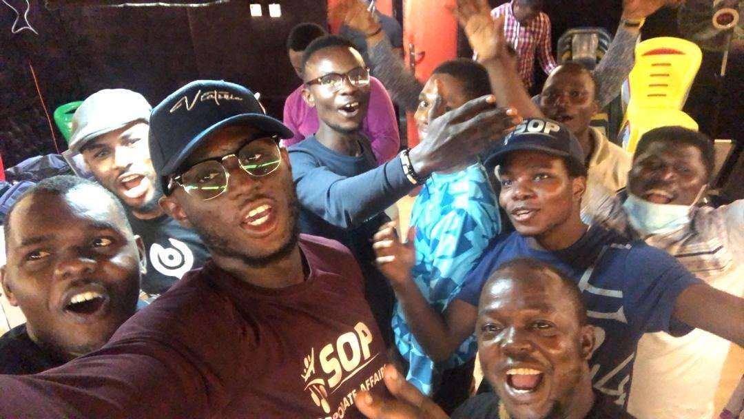 Live Streaming Team at AmuwoCarol 2020